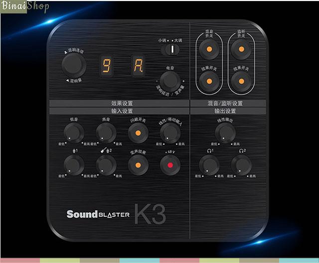 Creative Sound Blaster K3