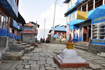 Trekking in Himalaya: Principala strada din Ghorepani