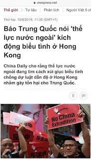 Người Hong Kong xuống đường vì điều gì?
