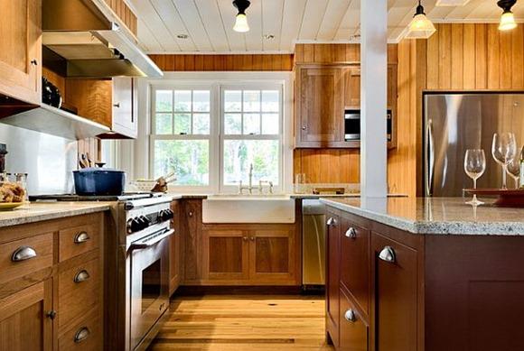Muebles de cocina: ideas para elegir los gabinetes y tiradores ...