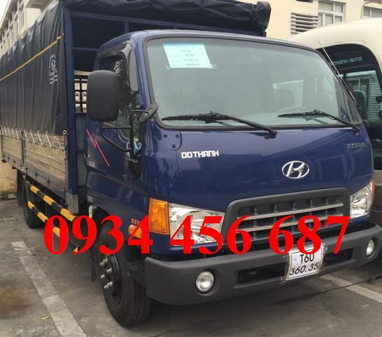 Hyundai Đô thành 8 tấn Mui bạt