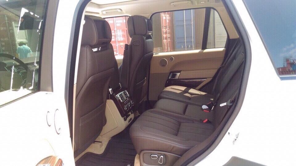 Nội thất xe Range Rover HSE 08
