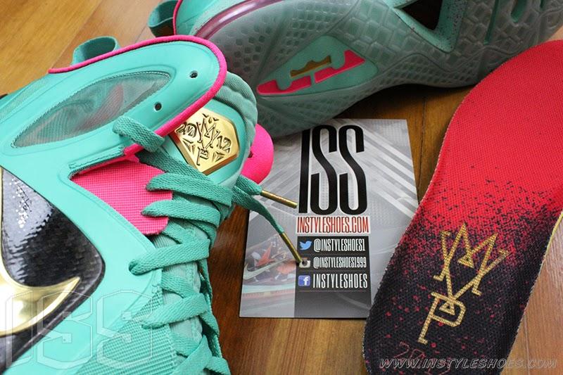 3973d375209b ... Nike LeBron 9 PS Elite 8220Statue of Liberty8221 PE Has a Twin ...