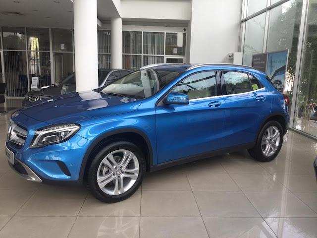 Xe Mercedes Benz GLA 200 01