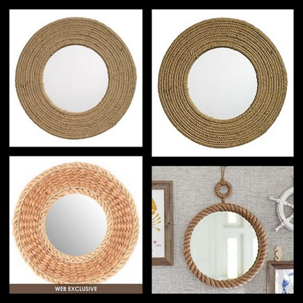 I found a woven plate charger at Goodwill for $1 and knew I could make it awesome. I actually had a small mirror at ...  sc 1 st  My Repurposed Life & mirror ideas with a plate charger - My Repurposed Life®