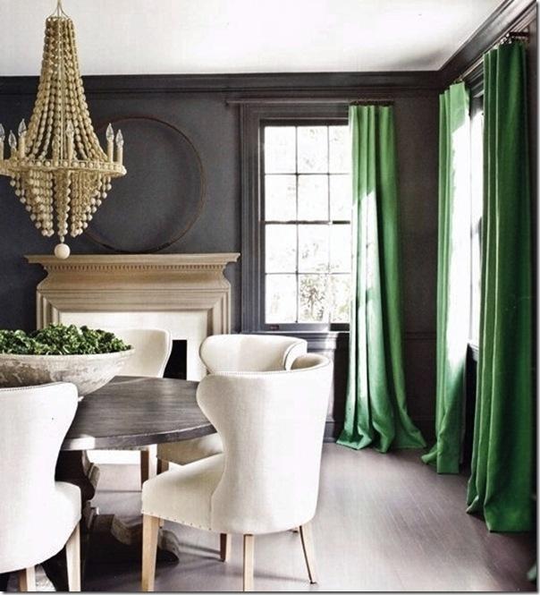 Uso del colore verde smeraldo case e interni for Case e interni