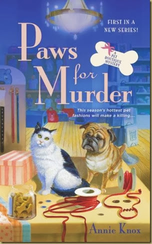 Paws for Murder cover