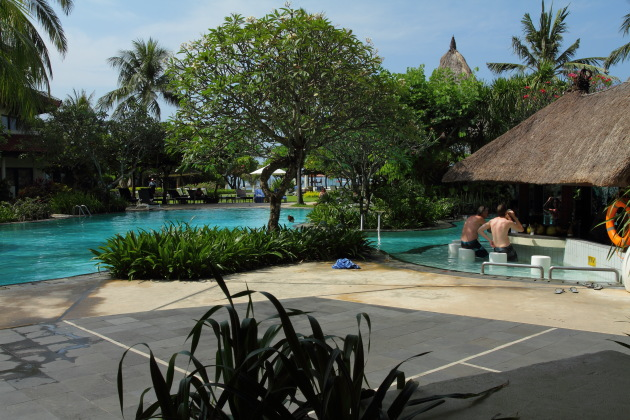 Coconut Bar by the Swimming Pool, Grand Mirage Resort, Bali