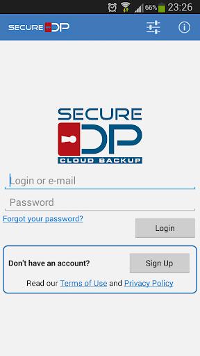 Secure DP Cloud Backup