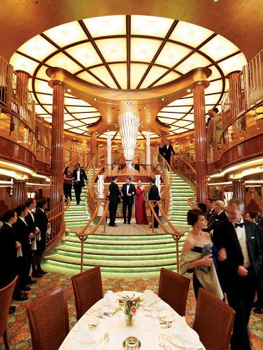 Cunard-Queen-Elizabeth-Britannia-Restaurant-2 - Dine at the Britannia Restaurant aboard Queen Elizabeth — pomp and circumstance included.