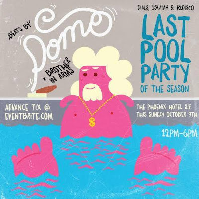 I'm in San Fran this Sunday for a pool party at the Phoenix Hotel