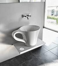 lavabo Copa de ArtCeram meneghello-paolelli