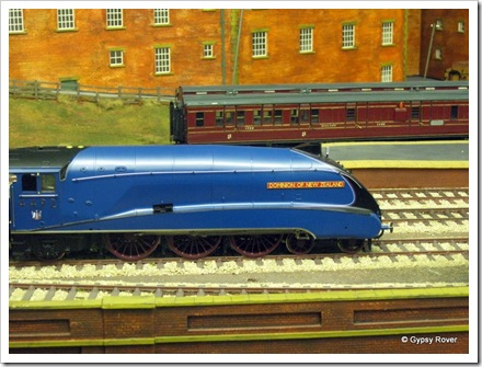 NRM York. 7mm model railway.