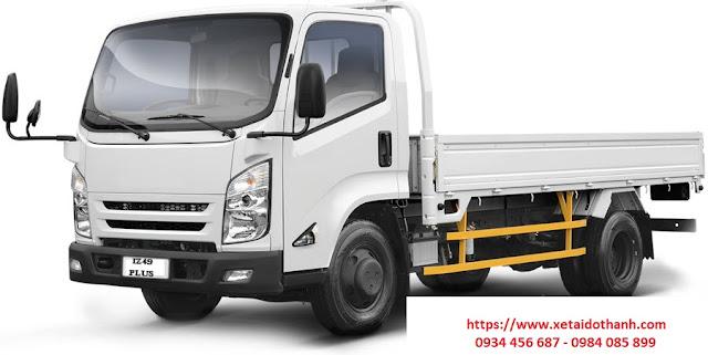 Bán xe tải 2.5 tấn IZ65 trả góp trên toàn Miền Bắc