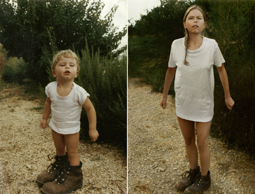 CECILE in 1987 & 2010, France