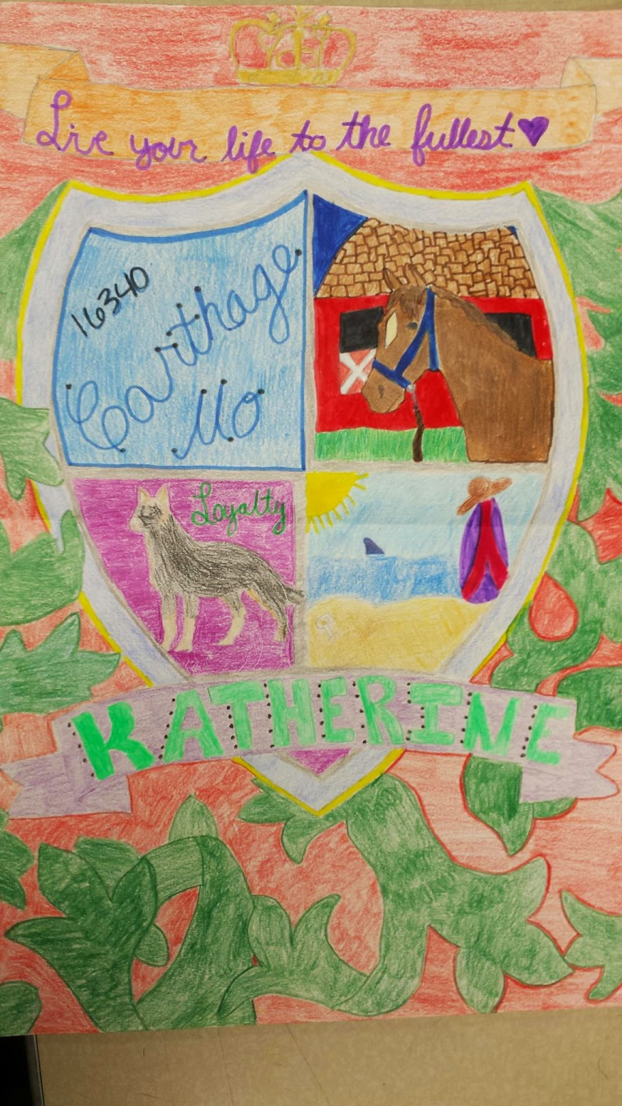 Mr  MintArt: Personal Coat of Arms Project
