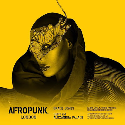 Come party with Ms Jones AFROPUNK ALEXANDRA PALACE 24TH SEPTEMBER 2016 You