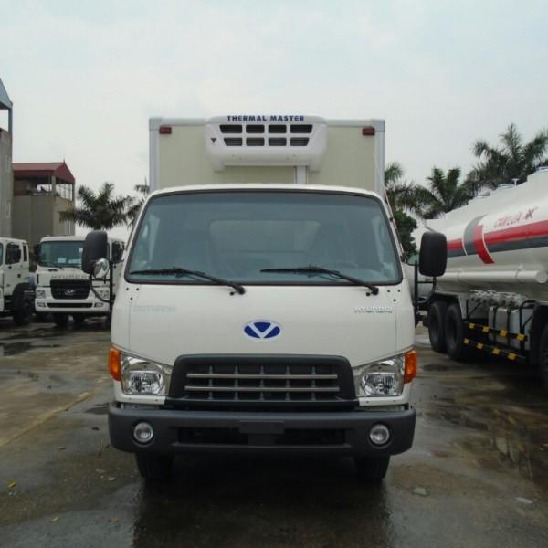 Xe tải Hyundai 8 tấn thùng đông lạnh