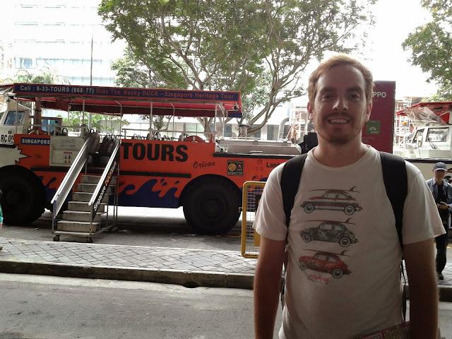 Bus Anfibioo. Singapur