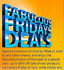 Changi Airport Fabulous Friday Deal