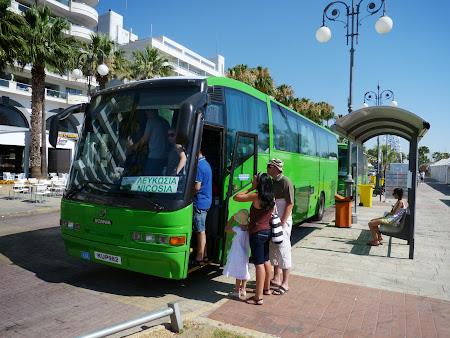 Autobuz Larnaca - Nicosia
