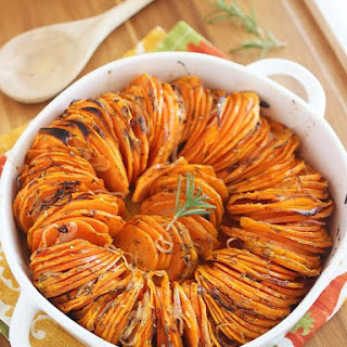 Crispy Roasted Rosemary Sweet Potatoes