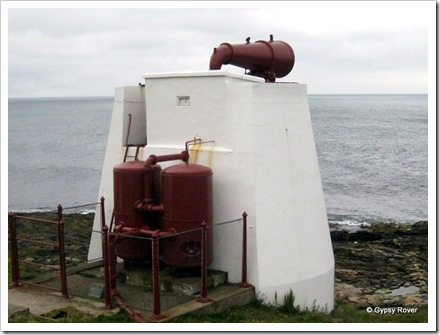 Fraserburgh fog horn in service from 1903 until 1987. Had a range of 12 miles.