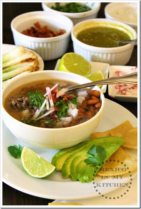 Carne en su jugo | step by step instructions with photos of the process.
