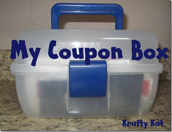 Coupon Box (Krafty Kat)