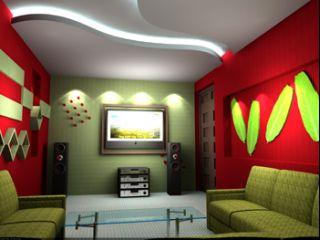 Trần thạch cao phòng karaoke