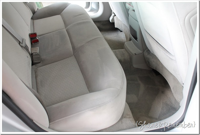Cleaning The Car Upholstery Is Easywith Oxiclean Versatile Stain Remover