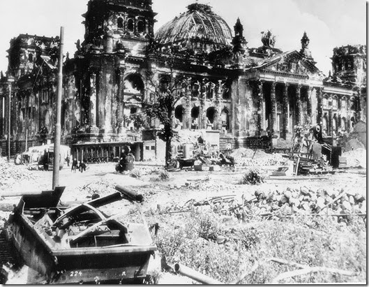 Berlin Germany Reichstag WWII