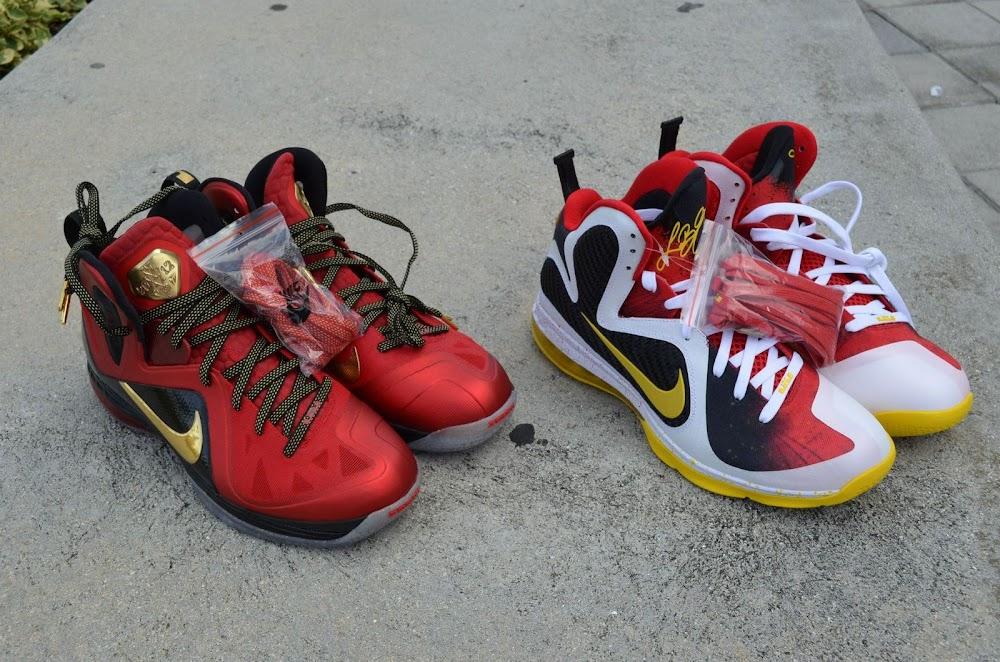 9a366f64337 ... Nike LeBron 9 MVP Championship Pack 8211 New Photos ...