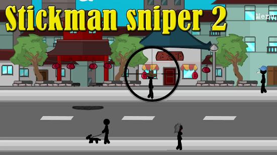 Stickman sniper 2 - náhled