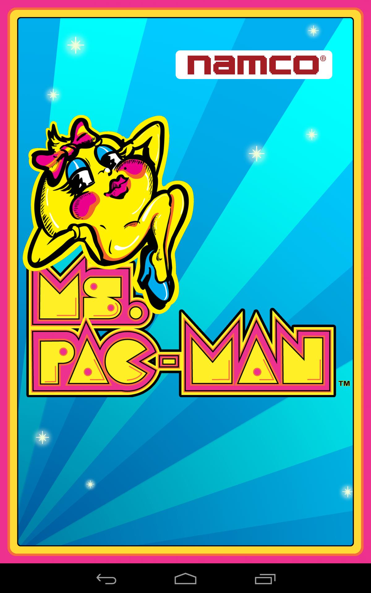 Ms. PAC-MAN by Namco screenshot #1