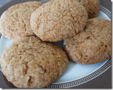 Pumpkin Molasses Cookies