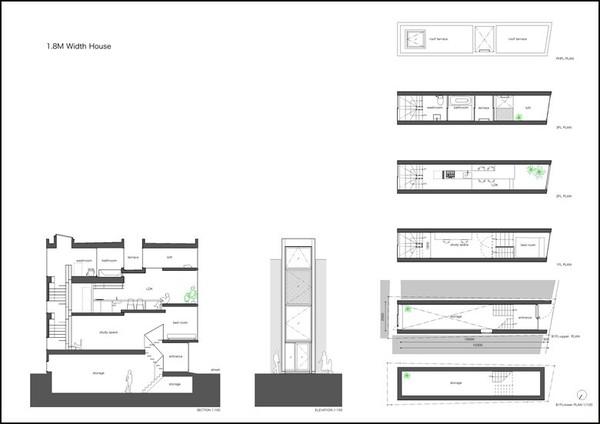Nhà Phố 1,8x11 b