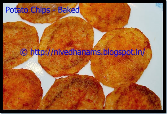 Potato Chips(Baked) - IMG_3905