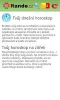 Screenshot of Rande.cz