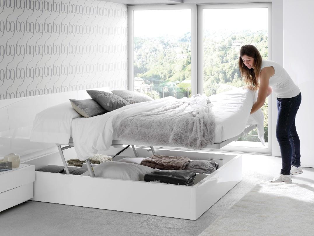 Cama con canap de ltima generaci n que cuida tu zona lumbar - Canapes para camas ...