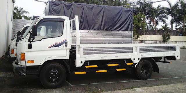 Hyundai 8 tấn đô thành thùng lửng
