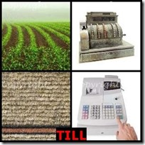 TILL- 4 Pics 1 Word Answers 3 Letters