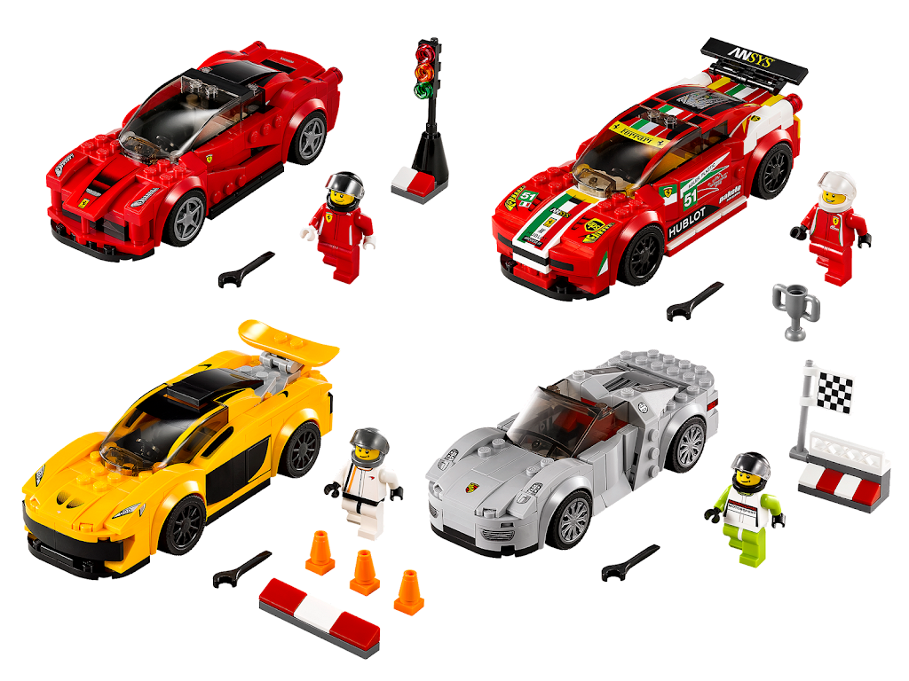 bricker lego 5004550 speed champions collection. Black Bedroom Furniture Sets. Home Design Ideas