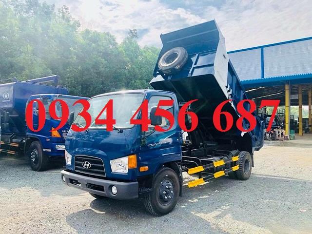 Bán xe ben 6 tấn Hyundai Mighty 110s