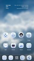 Screenshot of Blue Soul GO Launcher Theme