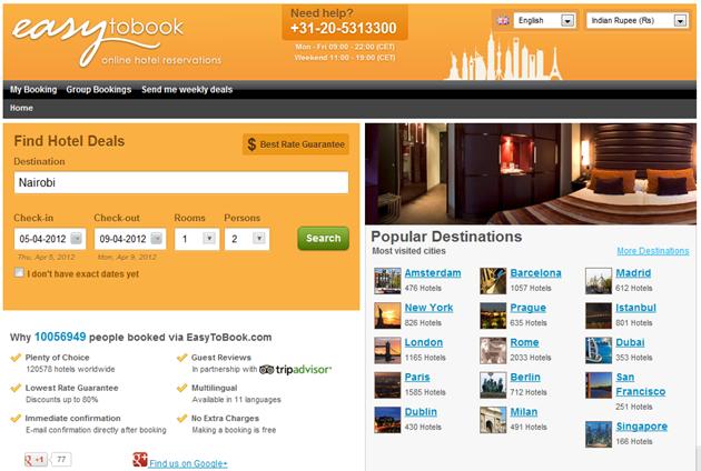 A Great Hotel Price Comparison Site Be