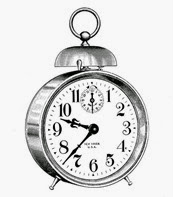 alarm clock vintage image graphicsfairy7b