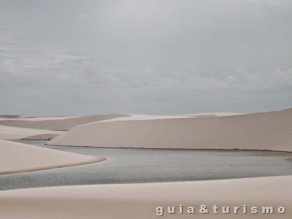 Lagoa azul, Lençóis Maranhenses