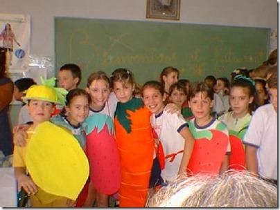 11- Disra escolar de naranjas y limones