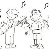 Dibujos De Bandas De Musica Para Colorear